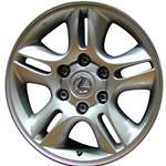 Aluminum Alloy Wheel, Rim 17x7.5 - 74167